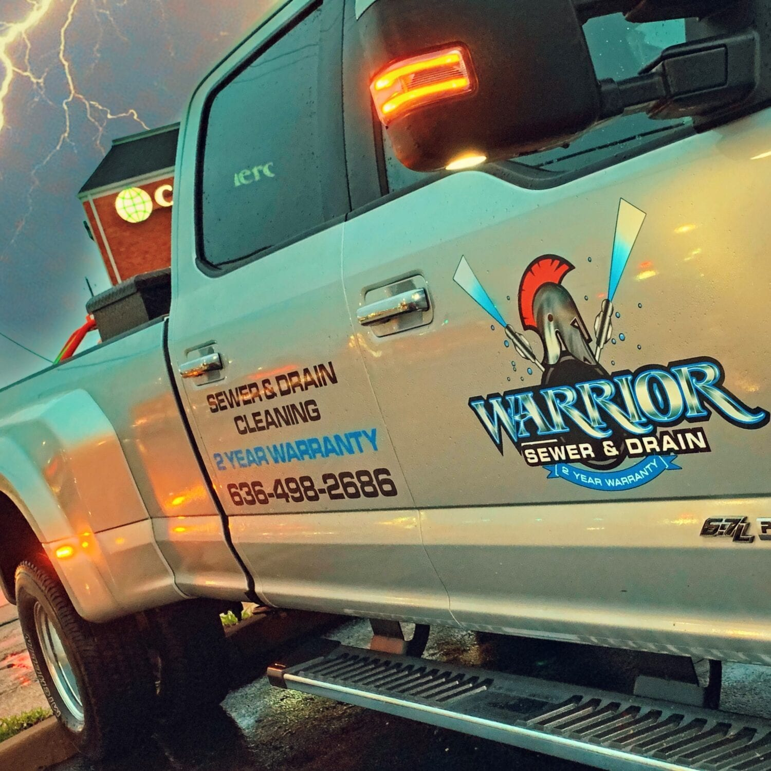 Warrior Sewer and Drain Hydrojetter Camera Inspection Truck